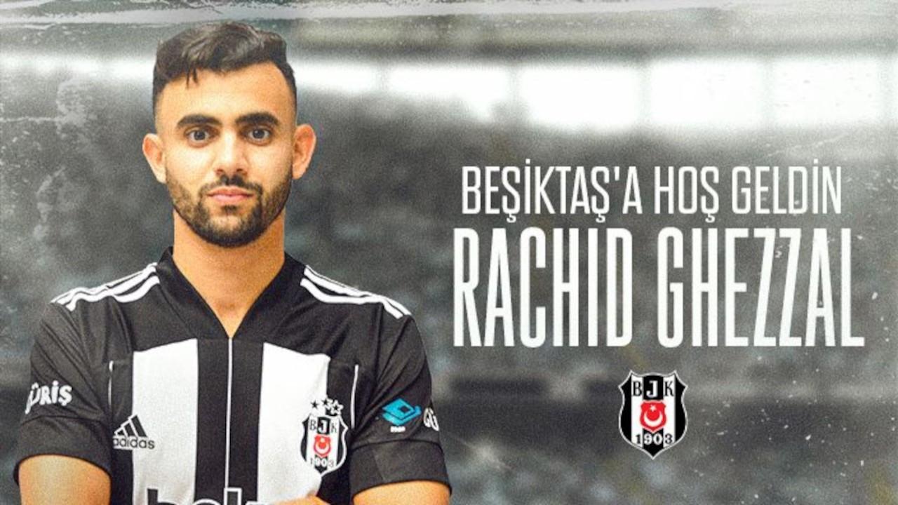 Beşiktaş, Rachid Ghezzal ile anlaştı