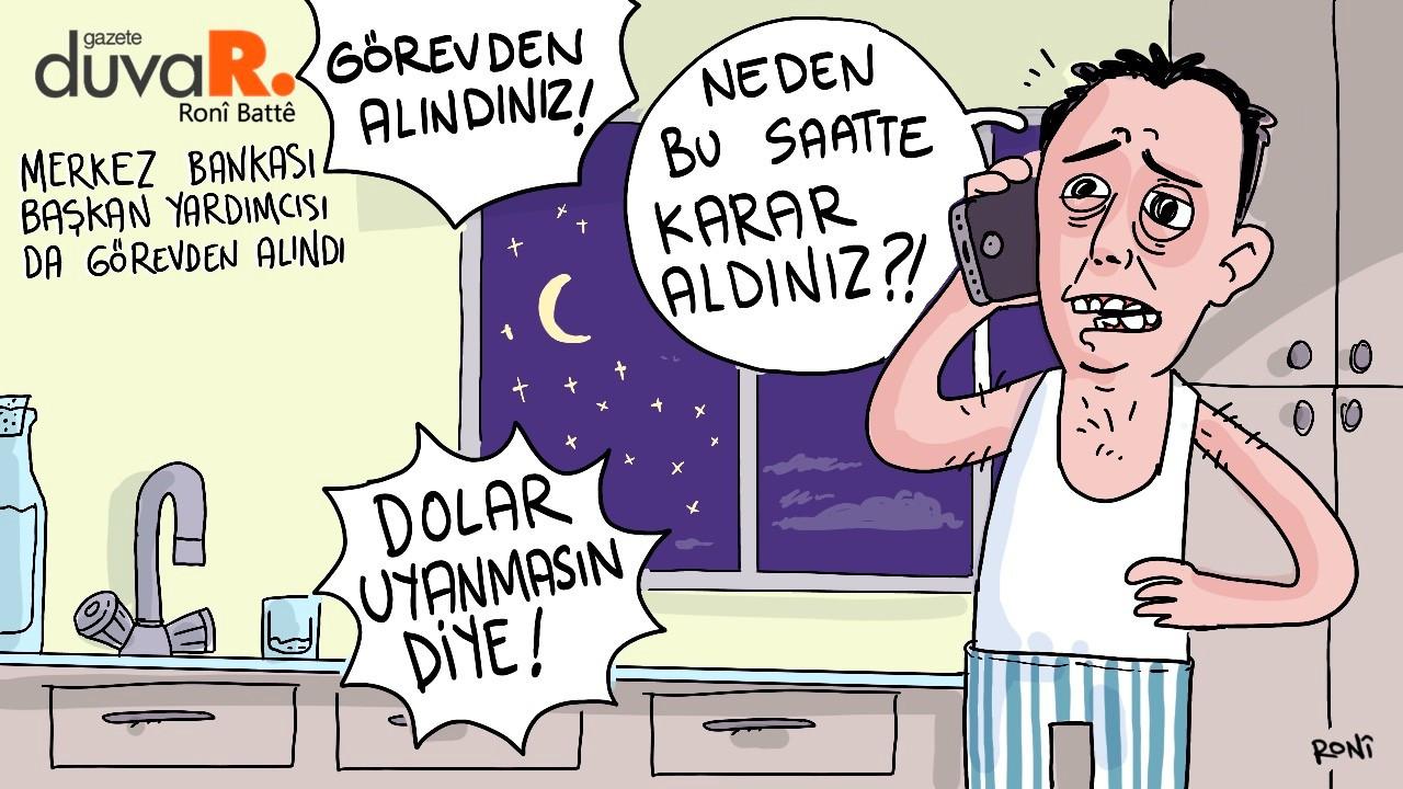 Günün karikatürü - Ronî Battê