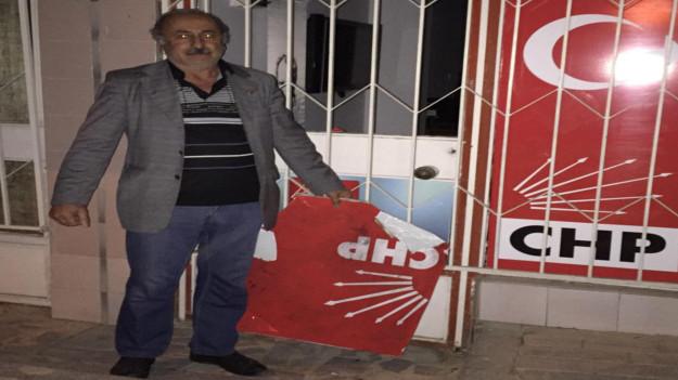 CHP temsilciliğine saldırı