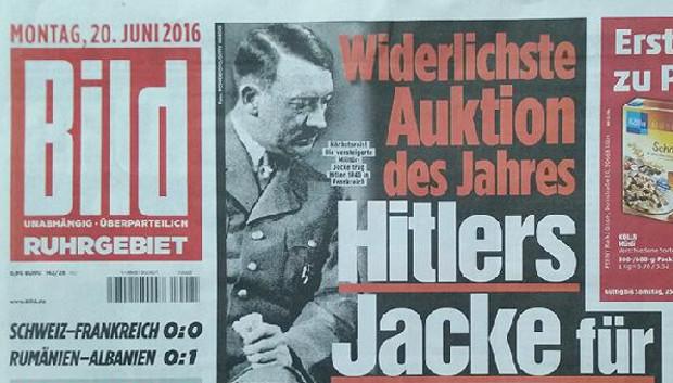 Hitler'in ceketi rekor fiyata satıldı