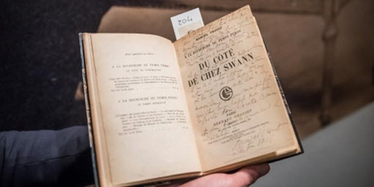 Proust arşivi 1.2 milyon Euro'ya satıldı