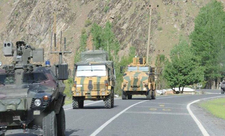 Hakkari'de 2 asker vefat etti