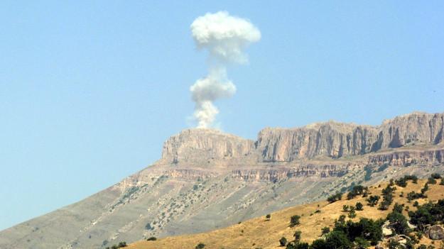 Hakkari'de üs bölgesi'ne saldırı