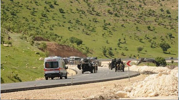 Mardin'de 3 polis öldürüldü