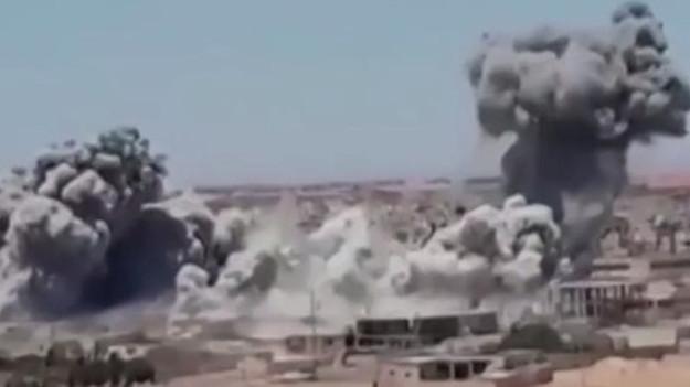 Menbiç'te IŞİD karargahı ele geçirildi