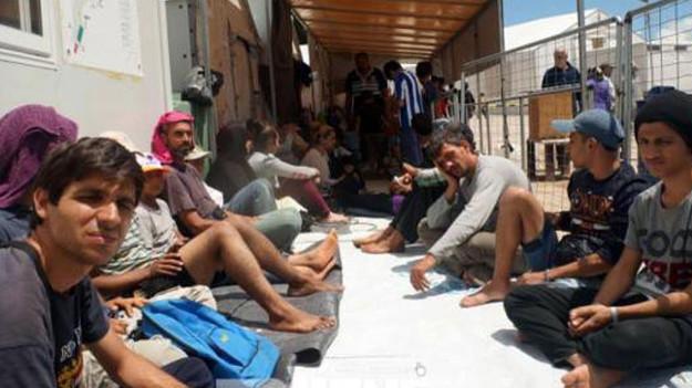 AB '18 bin' dedi 798 mülteci aldı