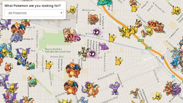Pokemon Go radarı