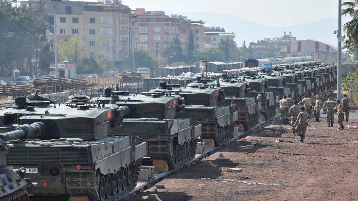 İstanbul'daki tanklar Islahiye yolcusu