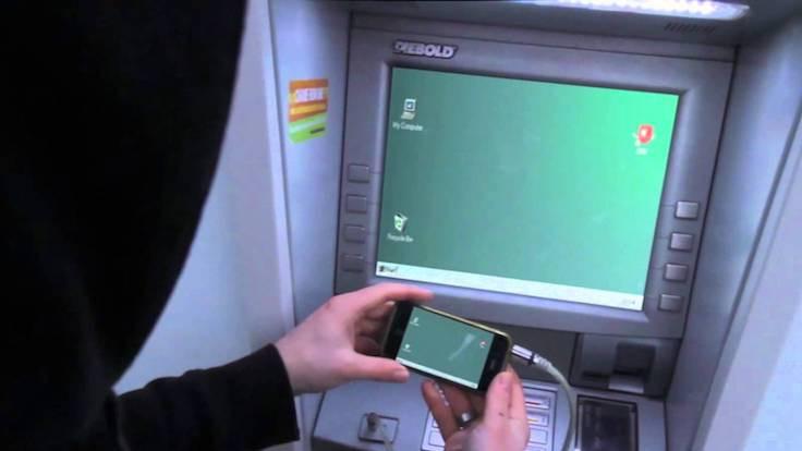 Korsanlar ATM'leri hack'ledi!