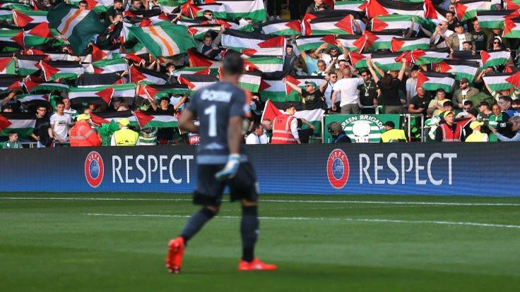 Filistinlilerden Celtic'e teşekkür