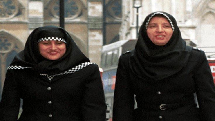Hijablı polisler geliyor