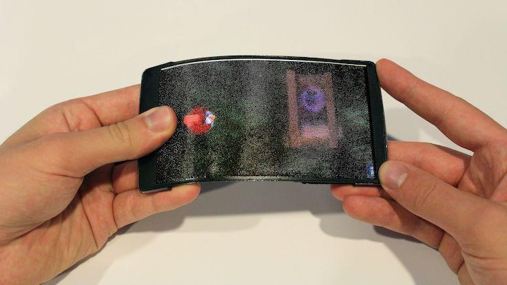 Hologramlı esnek ekranlı telefonlar geliyor