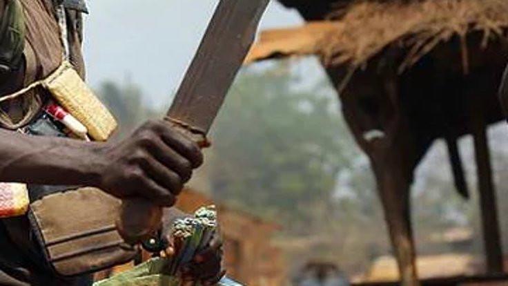 Afrika'da palalı katliam