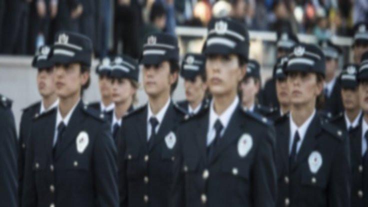 Polise başörtüsü izni