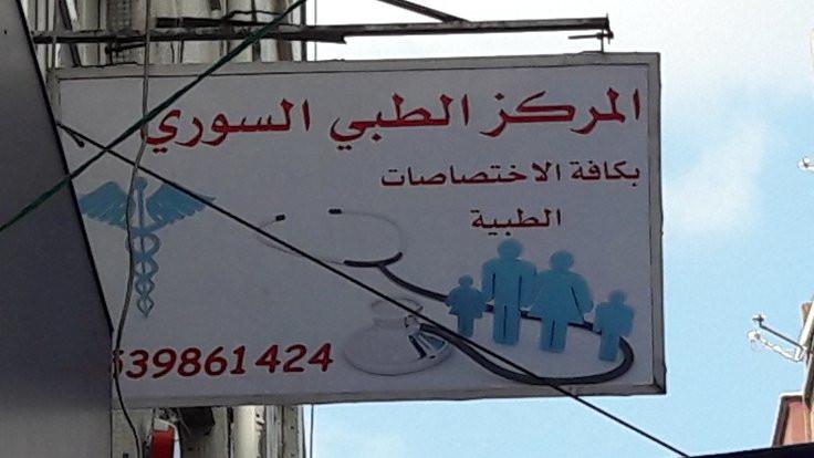 İstanbul'da Suriye hastanesi!