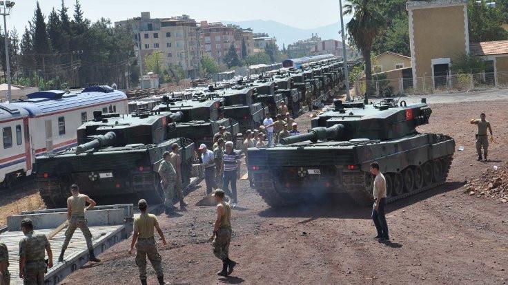 İstanbul'dan yoğun zırhlı sevkiyatı