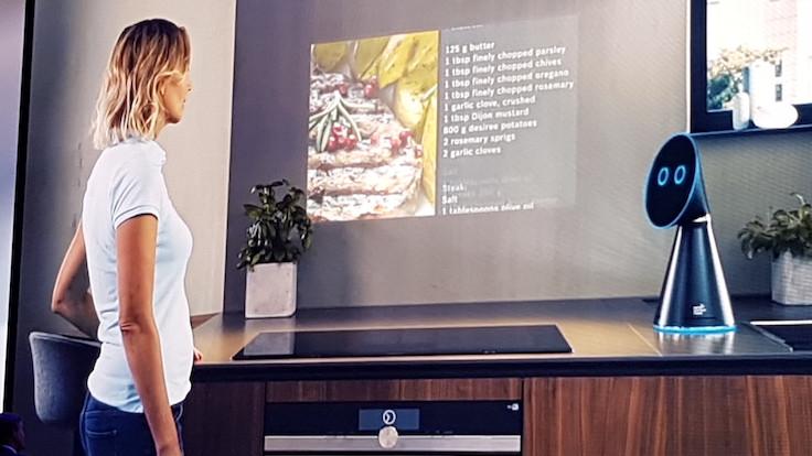 İşte gerçek 'mutfak robotu': Mykie