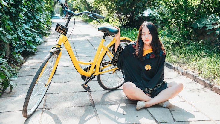 Çin'de bisiklete yatırım