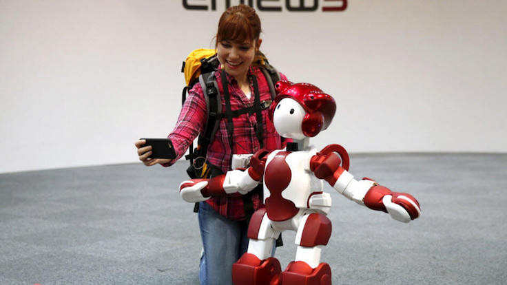 Robotlar işbaşında