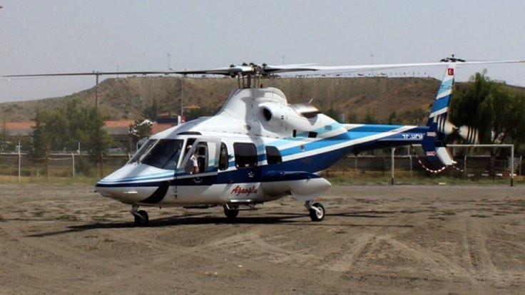 İstanbul'u korkutan helikopter Ağaoğlu'nun
