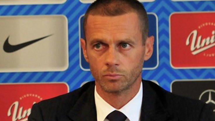 UEFA'nın yeni başkanı Ceferin