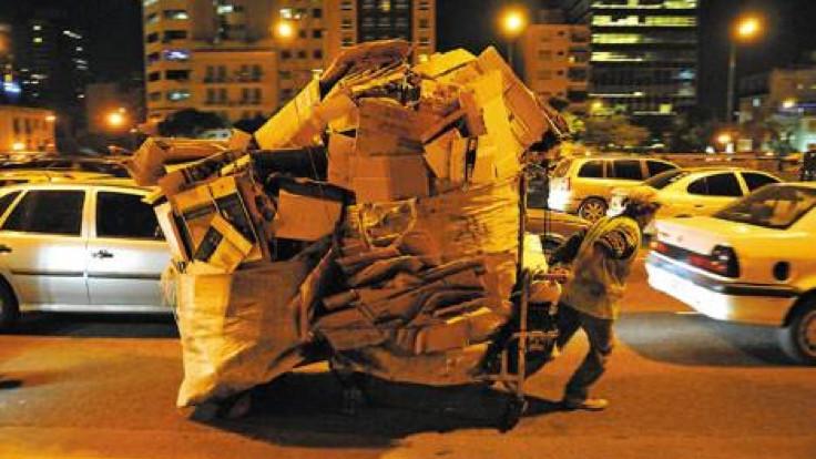 Arjantin ve kağıt toplayıcıları