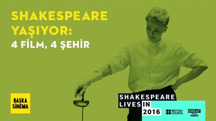 Shakespeare dört filmle dört şehirde