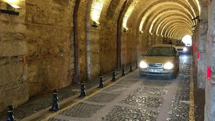 Tarihi tünel 40 yıl sonra açıldı