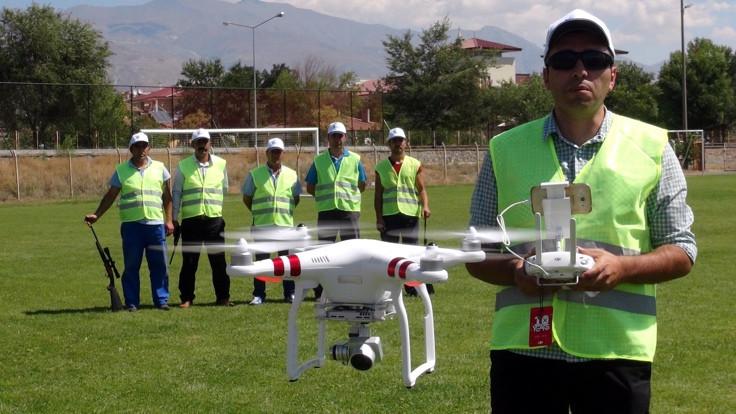 'Drone'lu kurban timi!