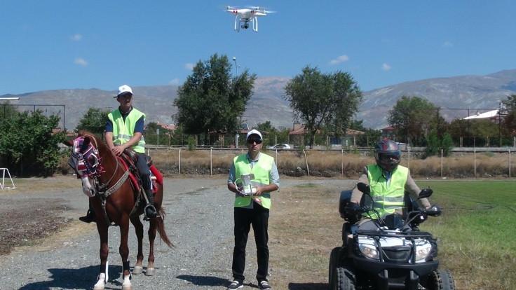 'Drone'lu kurban yakalama timi antrenmanlara başladı - Sayfa 2