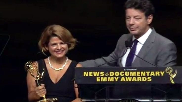 Zeynep Erdim'e Emmy'den ödül
