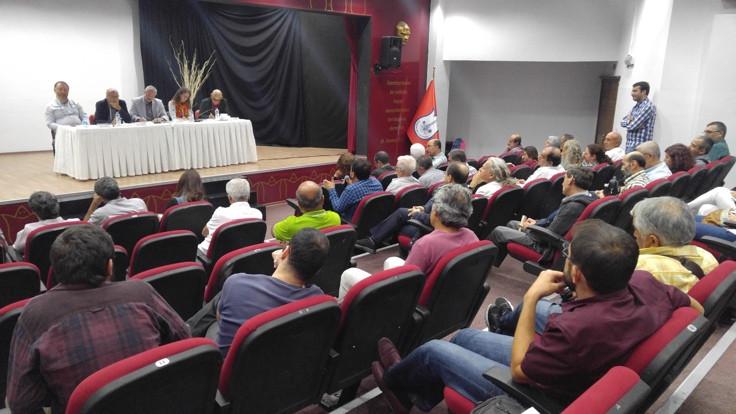 'Demokrasi İçin Birlik' toplantılarının İzmir ayağı yapıldı