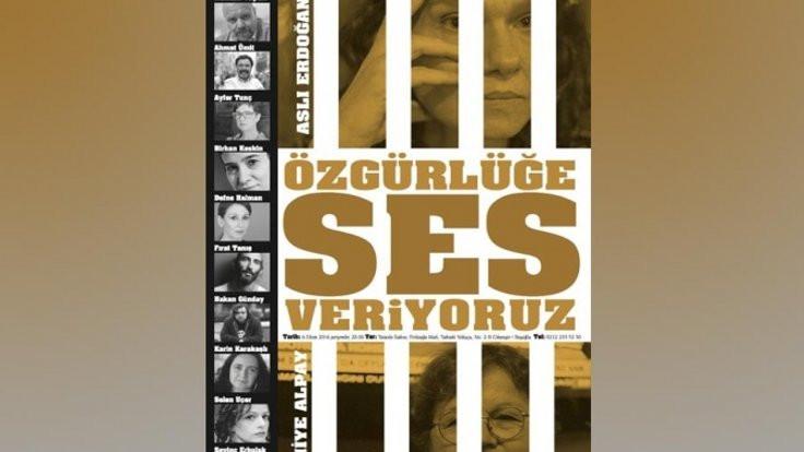 Erdoğan ve Alpay için okuma gecesi