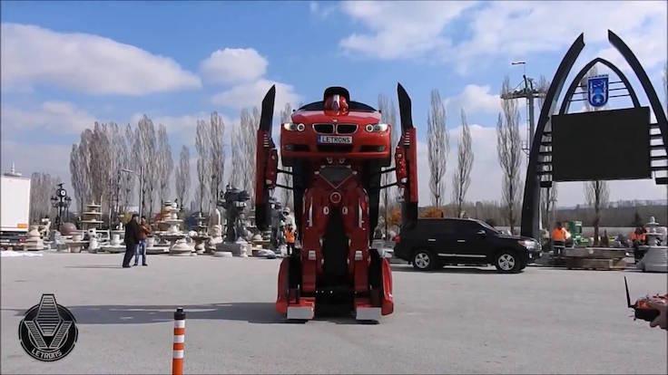 Türkler Transformers yaptı