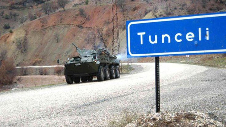 Tunceli'de özel güvenlik bölgesi ilanı