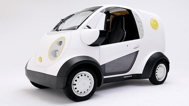 3D yazıcıdan çıkan otomobil