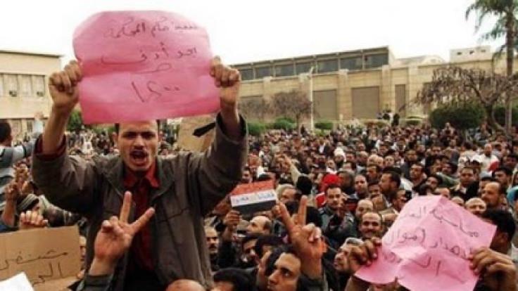Mısır, işçiler, grev ve Hayat TV