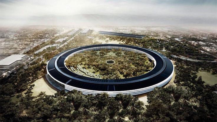 Apple'dan uzay üssü gibi kampüs