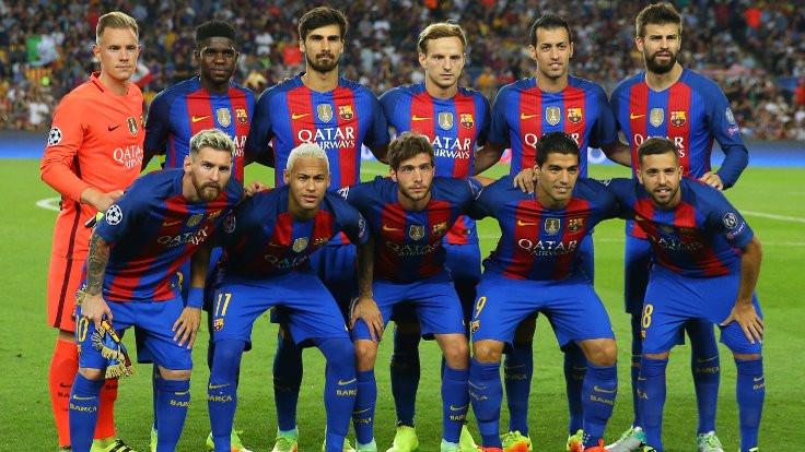 Barcelona formasına hapis!