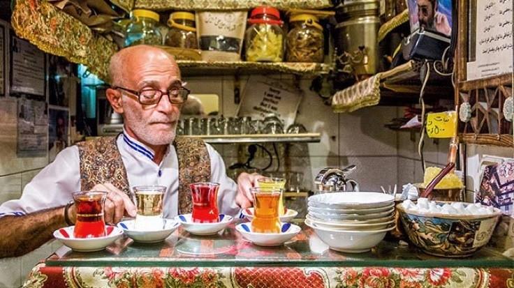 'Dünyanın en küçük çay ocağı'