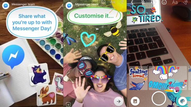 Facebook'tan Snapchat'e bir darbe daha