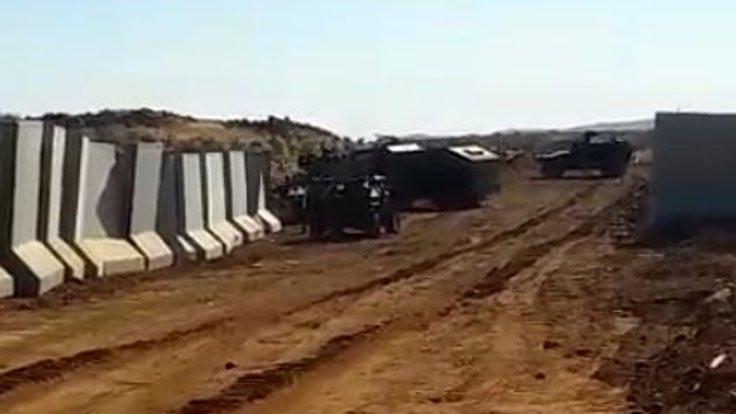 Suriye sınırında askerlere ateş açıldığı bildirildi