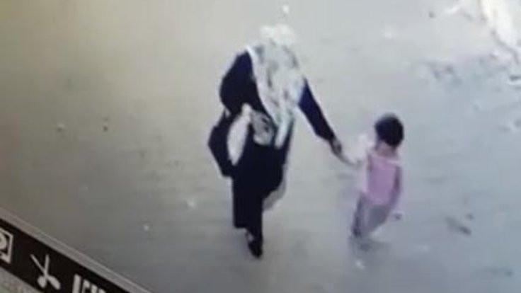 2.5 yaşındaki Kübra böyle kaçırılmış