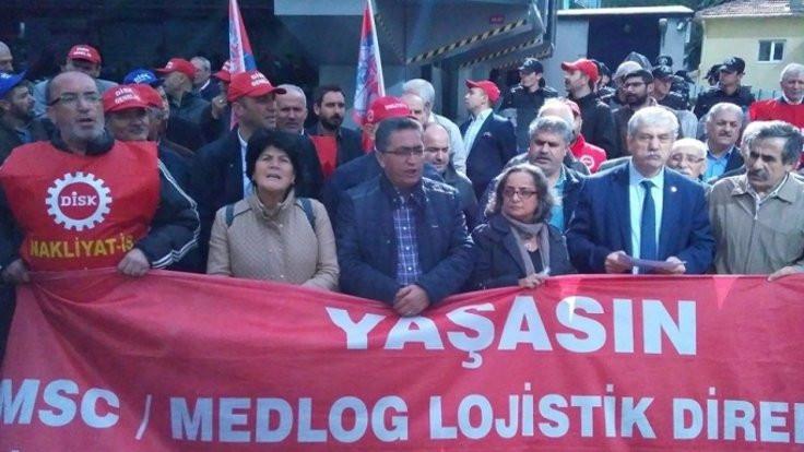 MSC Medlog işçilerine uluslararası destek
