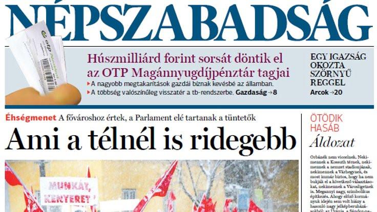 Macar gazetesi neden kapatıldı?