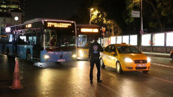 İstanbul'da 5 bin polisle 'uygulama'