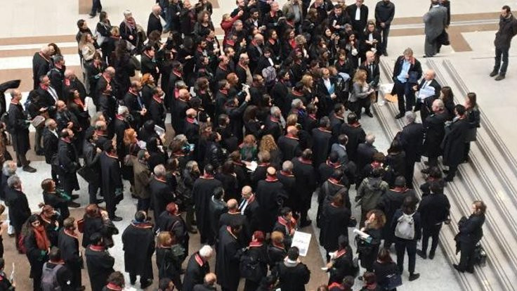 Avukatlar, 'Adalet Nöbeti' tutacak