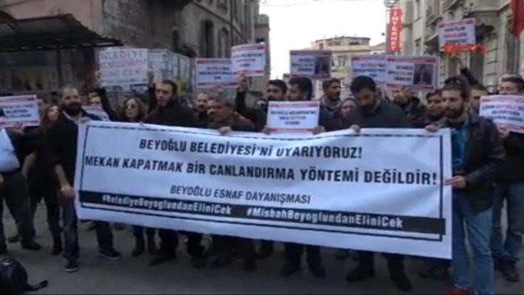 'Beyoğlu'nda 54 mekanın kapatılacağı bilgisi var'