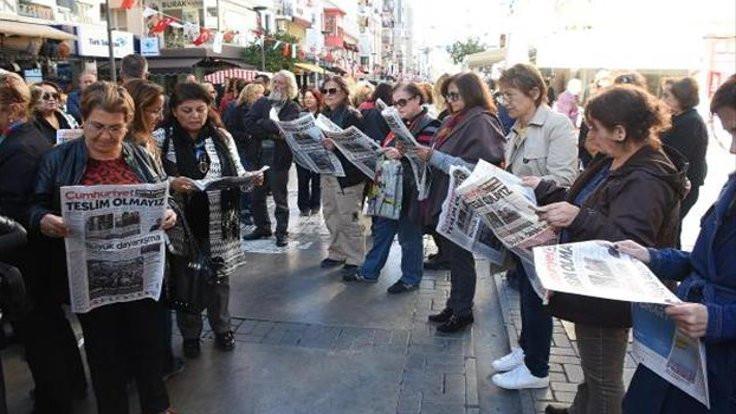 Cumhuriyet'in tirajı yüzde 40 arttı