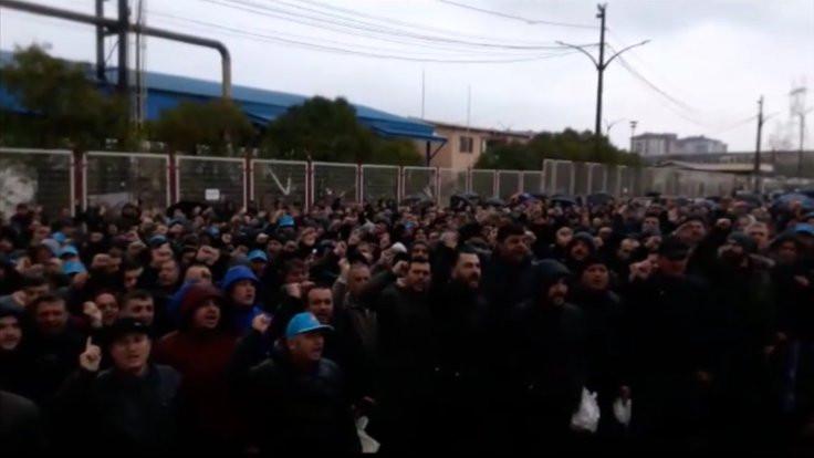 Erdemir işçileri greve gidiyor